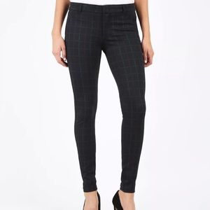 {Kut From The Kloth} Plaid Mia Ankle Skinny Pants